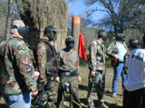 bachelor paintball parties