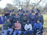 corporate paintball parties
